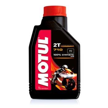 Масло для мотоциклов  MOTUL 710 2T  1л  синтетическое, 2-х тактное