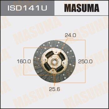 Диск сцепления MASUMA ISD141U