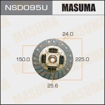 Диск сцепления MASUMA NSD095U