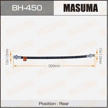 """Шланг тормозной """"Masuma"""" T-  /rear/  LiteAce CR40,42,SR40,KR42"""