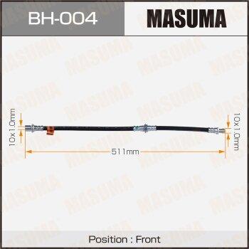 Шланг тормозной MASUMA BH-004
