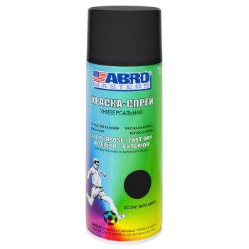 """Краска-аэрозоль """"ABRO"""" температурная Черная (425`С) , аэроз. 473гр       (1/12 )"""