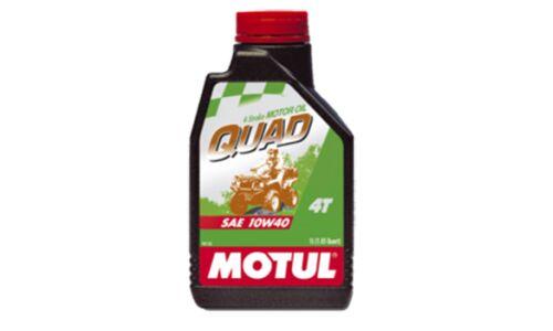 Масло для квадроциклов  MOTUL Quad 4T  10W40  минеральное, 4-х тактное 1л