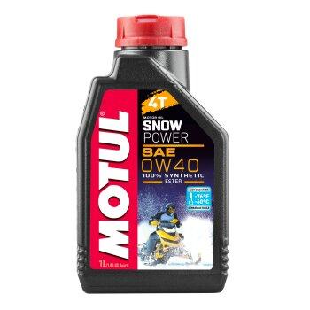 Масло для снегоходов  MOTUL Snowpower 4T  0W40 синтетическое, 4-х тактное 1л