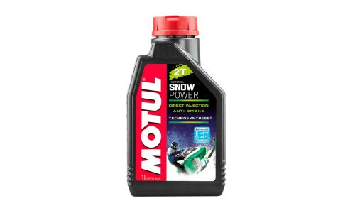 Масло для снегоходов  MOTUL Snowpower 2T полусинтетическое, 2-х тактное  1л