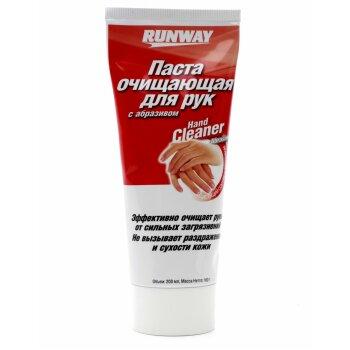 """Рук очист. """"Runway"""" с абразивом,  туба 200 ml"""