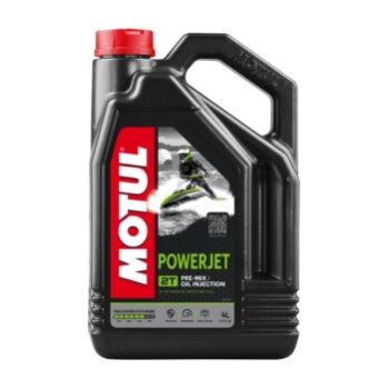 Масло для гидроциклов  MOTUL Powerjet 2T полусинтетическое, 2-х тактное 4л