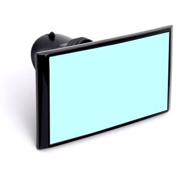 """Зеркало салон. """"Carmate"""" ,  на Присоске, черное"""
