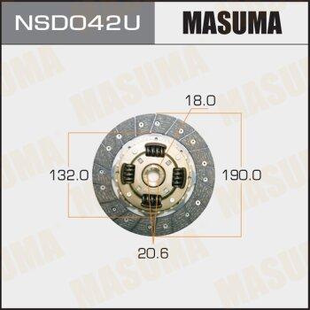 Диск сцепления MASUMA NSD042U