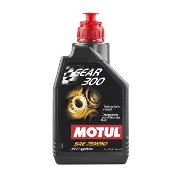 Масло трансмиссионное  MOTUL Gear 300  75W90  GL5  1л    (1/12)