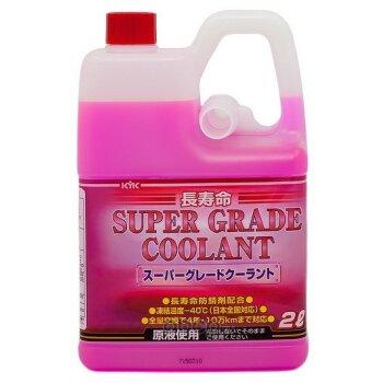 """Антифриз """"KYK""""  Super Grade Coolant  -40C  Розовый     2л.   (1/8) (для новых Toyota, органический)"""