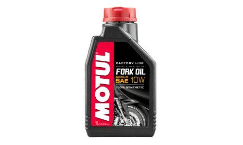 Масло вилочное  MOTUL Fork Oil  medium  Factory Line 10W  1л синтетическое