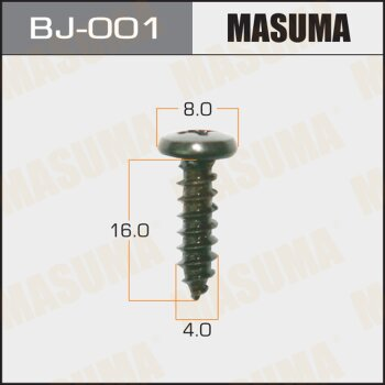 "Саморез """"MASUMA""""     4x16мм,   уп.20шт"
