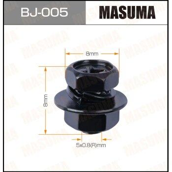 """Болт с гайкой """"""""MASUMA""""""""  М 5x8x0.8,   уп.12шт"""