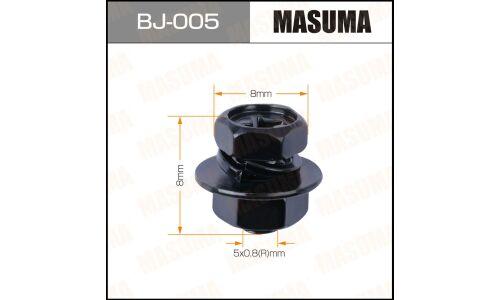 Болт с гайкой 'MASUMA'  М 5x8x0.8,   уп.12шт