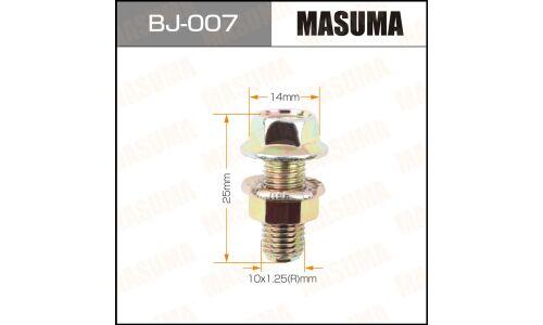 """Болт с гайкой """"MASUMA""""  М10x25x1.25,  уп.2шт"""