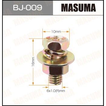 """Болт с гайкой """"""""MASUMA""""""""  М 6x16x1.0,   уп.6шт"""