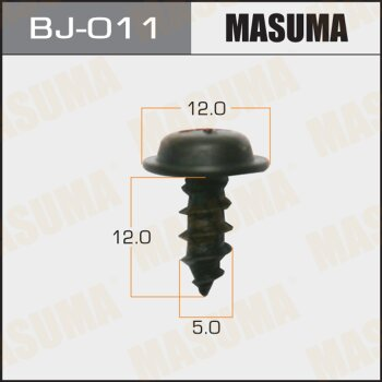 "Саморез """"MASUMA""""     5x12мм,   уп.15шт"