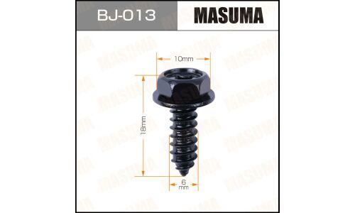 "Саморез ""MASUMA""     6x18мм,   уп.10шт"