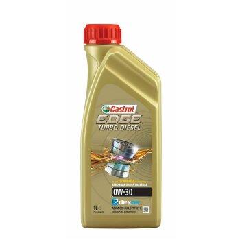 Масло моторное  Castrol EDGE Titanium FST Turbo Diesel   0w30  SN/SM/CF  синтетическое, для  дизельного двигателя  1л