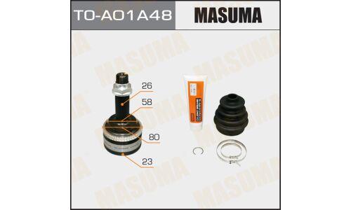 ШРУС MASUMA 23x58x26 x48 TO-A01A48