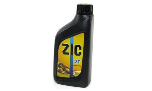Масло для мотоциклов  ZIC  MAHA полусинтетическое, 2-х тактное 1л
