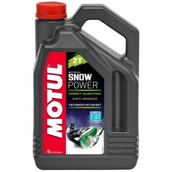Масло для снегоходов  MOTUL Snowpower 2T полусинтетическое, 2-х тактное  4л
