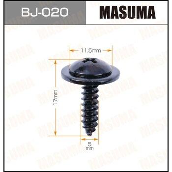 "Саморез """"MASUMA""""     5x17 мм,   уп.10шт"