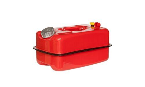 """Канистра сталь """"Красная"""",гориз.,оцинков.,горловина с навинчив.крышкой,перепуск.клапан 10 литров"""