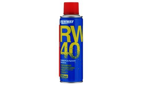 "Смазка ""Runway"" Универсальная Rw-40, аэроз. 200ml"