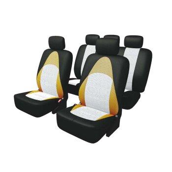 Комплект чехлов а/м CARFORT Active черно-оранжевый 13 предм. AC-3004