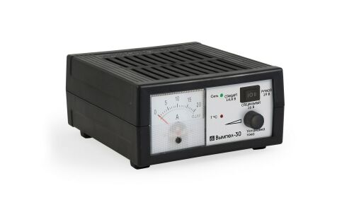 Заряд.устройство Вымпел-30 (автомат,0-18А, 3-х режимн,стрелочный амперметр)