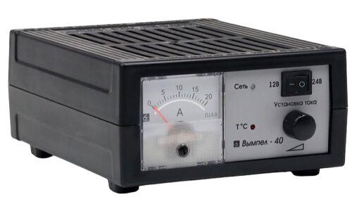 Заряд.устройство Вымпел-40 (автомат,0-20А,12/24В, линейный амперметр)