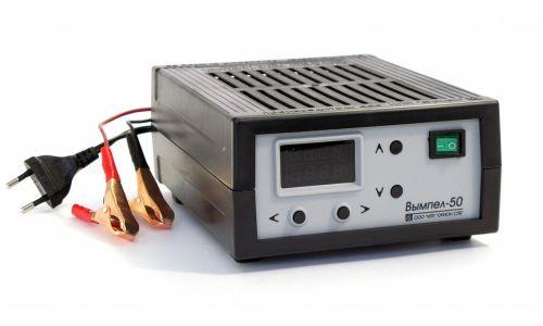 Заряд.устройство Вымпел-50 (автомат,0-18А,0-12В,светодиодный амперметр)