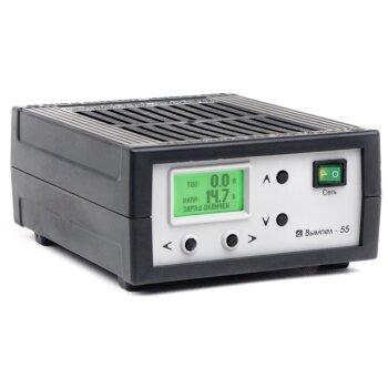 Заряд.устройство Вымпел-55 (автомат,0-18А,0-12В, ЖК амперметр)