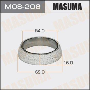 "Упл.кольцо под выхл.коллект. """"MASUMA"""" 54x69x16"