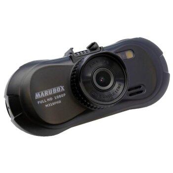 """Видеорегистратор автомобильный Marubox M310FHD на лобовое стекло, 5Мп, 1920x1080, обзор 150°, экран 2.7"""""""