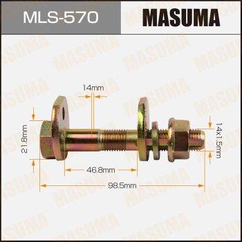 """Болт эксцентрик  """"""""Masuma"""""""" к-т.    Toyota"""