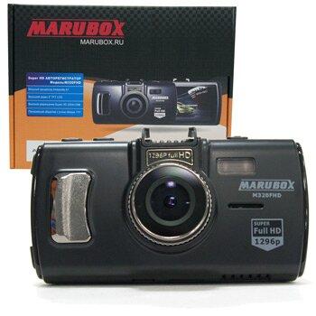 Видеорегистратор автомобильный 'MARUBOX' 2304х1296 SUPER HD объектив 170 гр., Процессор ambarella A7