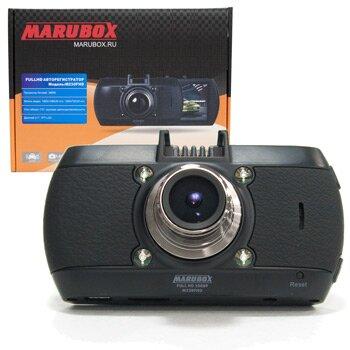 """Видеорегистратор автомобильный Marubox M230FHD на лобовое стекло, 3Мп, 1920x1080, обзор 170°, экран 2.7"""""""