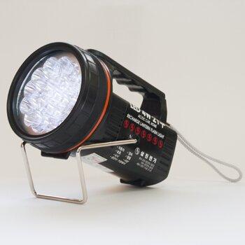 Фонарь аккумуляторный со светодиодами (заряд.12V/220V) (1/ 10)