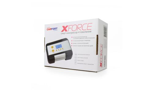Компрессор а/м CARFORT X-Force ЖК дисплей  30 л/м  CF-1200