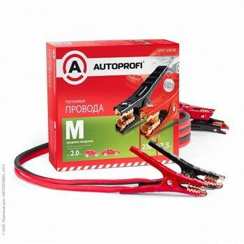 Провода пусковые Autoprofi, 230A, 2.5м, сечение 8.37мм2