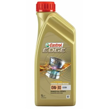 Масло моторное  Castrol EDGE Titanium FST 0w30 А3/В4  SL/CF синтетическое, универсальное 1л
