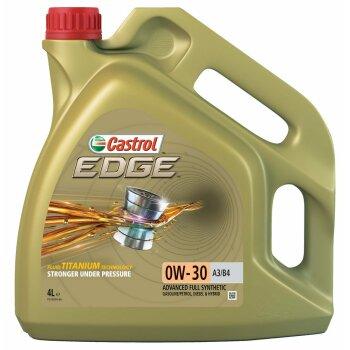 Масло моторное  Castrol EDGE Titanium FST 0w30  А3/В4 SL/CF синтетическое, универсальное 4л