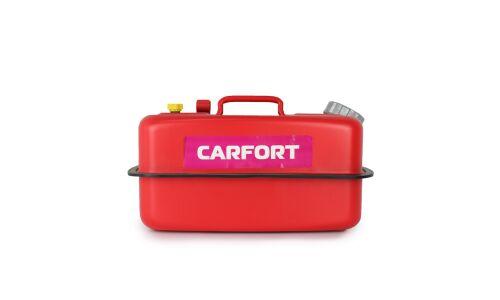 Канистра сталь 'CARFORT', гориз.,оцинков.,горловина с навинчив.крышкой,перепуск.клапан 10 литров