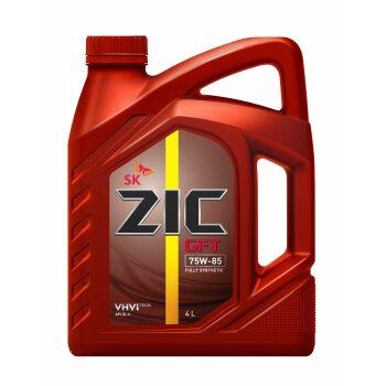 Жидкость трансм. ZIC GFT 75w85 GL-4 4л