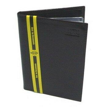 Бумажник водителя 8 карманов (д/кредитн.карт,пасп.),станд.р-р (кожа 'Коньяк'-люкс)