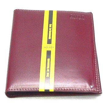 Бумажник водителя 8 карманов (д/кредитн.карт,пасп.),станд.р-р (кожа анилин-люкс бордо)
