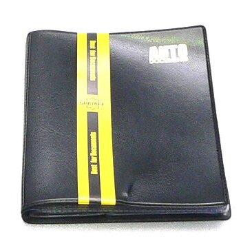 Бумажник водителя в мягкой обложке,6 карманов,уменьш.р-р (цв.ПВХ-пластик)